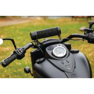 Černé Reproduktory Road Thunder® Sound Bar Plus na řídítka pro motocykl Indian Scout