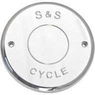 Chromový kryt vzduchového filtru pro motocykl Indian Chief  od S+S CYCLE