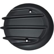 Černý kryt víka primáru Tri-Fin Primary Cover pro motocykl Indian Chief / Chieftain / Roadmaster od KURYAKYN 5727
