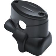 Černý kryt zadní nádobky brzdové kapaliny pro motocykl Indian Chief / Chieftain / Roadmaster od KURYAKYN 5181