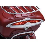 Chromový kryt světel na zadním kufru ACCENT TRUNK LIGHT pro motocykl Indian od KURYAKYN