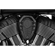 Černý kryt klaksonu pro motocykl Indian Chief / Chieftain / Roadmaster od KURYAKYN 7471