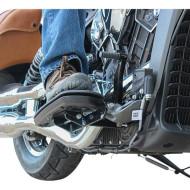 Držáky stupaček ploten pro komfortnější pozici řidiče pro motocykl Indian od KLOCK WERKS